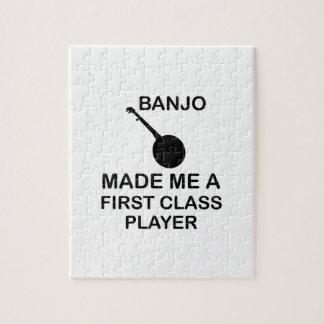 banjo Design Jigsaw Puzzle