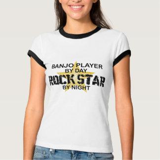 Banjo Player Rock Star by Night T-Shirt