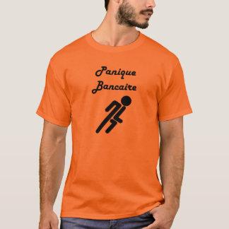 Bank run/Bank Panic (French) T-Shirt