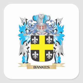 Bankes Coat of Arms Stickers