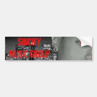 banner 2, SinCity Music Group Bumper Sticker