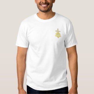 Banner Design Embroidered T-Shirt