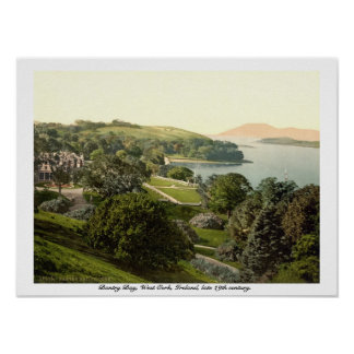Bantry Bay, Cork, 19th century Ireland print