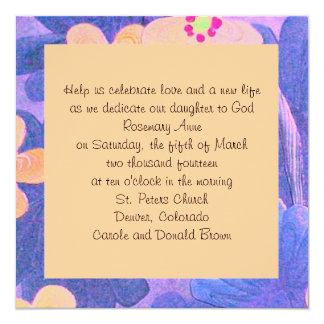baptism announcement