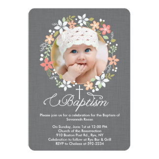 Browse Zazzle Baptism invitations and customise with your own text, photos or designs.