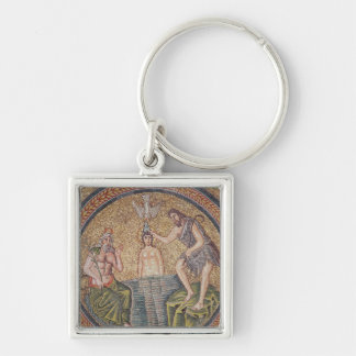 Baptism of Christ by John the Baptist Keychains
