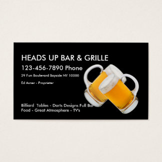 Bar And Pub Business Cards