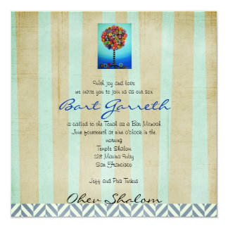 Bar Bat Mitzvah Invitations by Prisarts