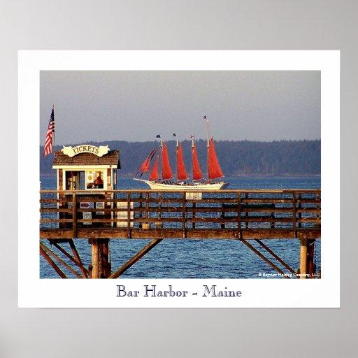 Bar Harbor - Maine Poster