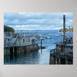 Bar Harbor Maine Poster