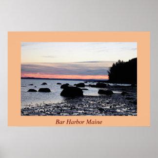 Bar Harbor Sunrise Poster