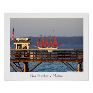 Bar Harbour - Maine Poster
