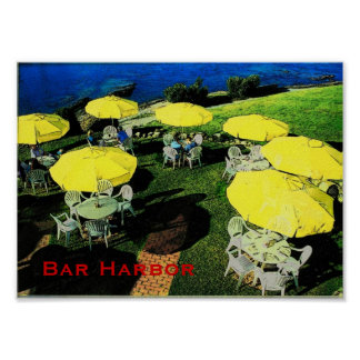 Bar Harbour Poster