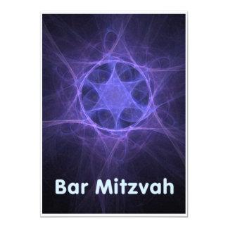 Bar Mitzvah 13 Cm X 18 Cm Invitation Card
