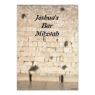Bar Mitzvah/Bat Mitzvah Card