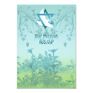 Bar Mitzvah Reply Personalised Invite