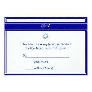 Bar Mitzvah Response Cards
