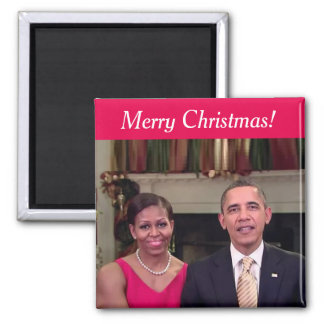 Barack and Michelle 2011WA - Magnet