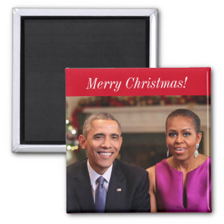 Barack and Michelle 2014WA - Magnet