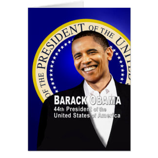 Barack is 44 card