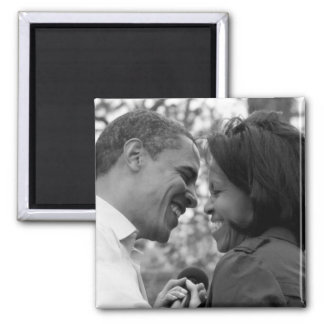 Barack & Michelle fridge magnet