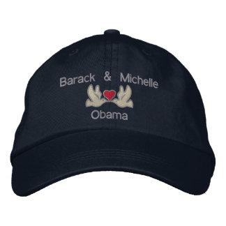 "Barack & Michelle ""Lovebirds"" Embroidered Hat"