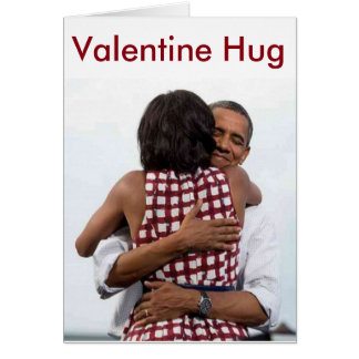Barack-Michelle Valentine's Day - Card