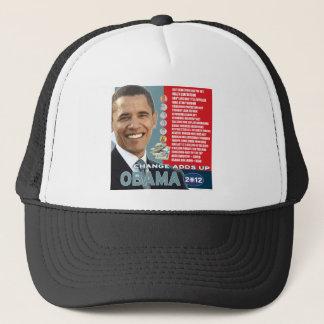 Barack Obama 2012 - Change Adds Up Trucker Hat