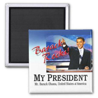 Barack Rocks! Magnet