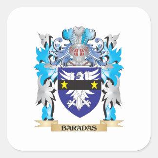 Baradas Coat of Arms Sticker