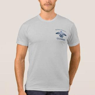 Baraga Michigan Ojibwe Native American Indian Grey T-Shirt