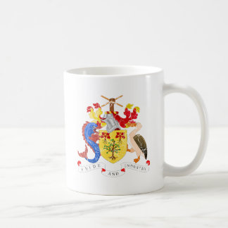 Barbados Coat Of Arms Coffee Mug
