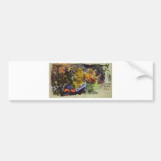 Barbarian music by Paul Gauguin Bumper Sticker