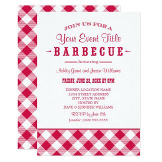 Barbecue Party Invitation | Casual BBQ