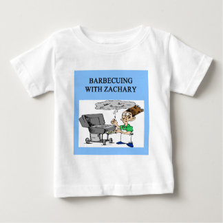 barbecueing with zachary baby T-Shirt