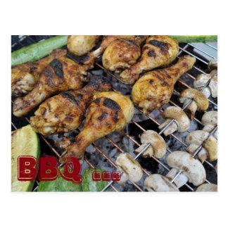 Barbeque BBQ Postcard