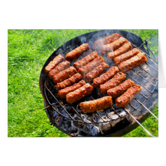 Barbeque Card