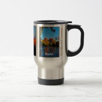 Barbi on Red Rock Crossing Mug
