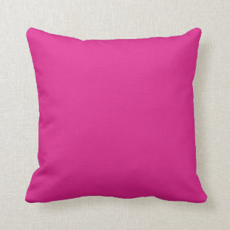 Barbie pink color background pillow