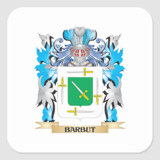 Barbut Coat of Arms Stickers