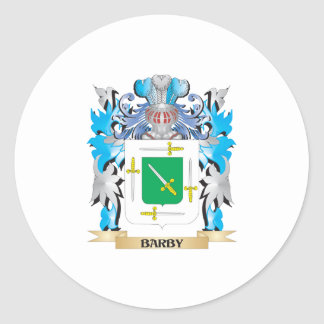 Barby Coat of Arms Round Stickers