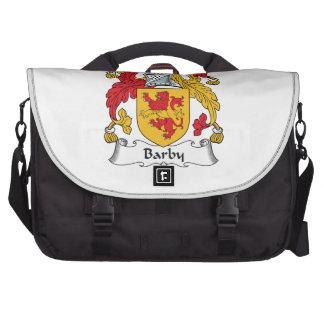 Barby Family Crest Laptop Commuter Bag