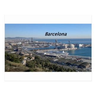 barcelona--aerial- view--[kan.k].JPG Postcard