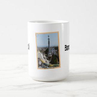 Barcelona 'Gaudí' Postcard Coffee Mug