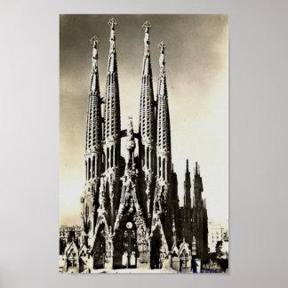 Barcelona, Sagrada Familia Poster