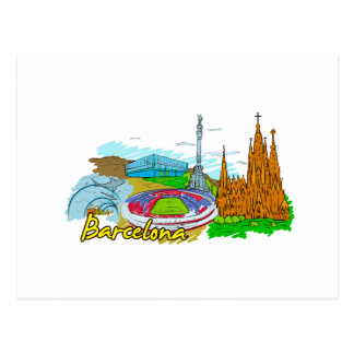 Barcelona - Spain Postcard