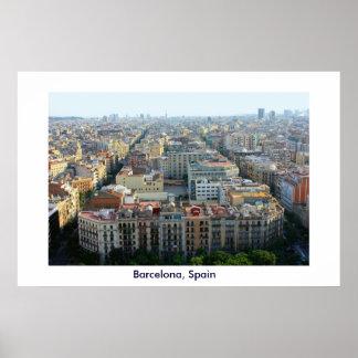 Barcelona, Spain poster print