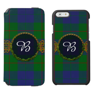 Barclay Tartan And Monogram Incipio Watson™ iPhone 6 Wallet Case