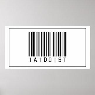 Barcode Iaidoist Posters