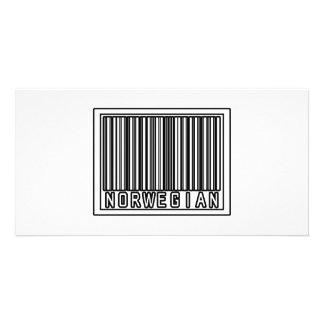 Barcode Norwegian Photo Card